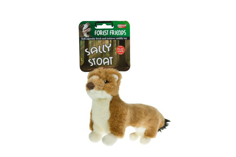 Sally Stoat Forest Friends Dog Toy Thumbnail