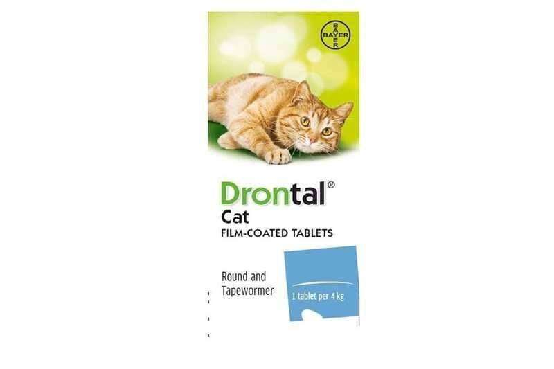 Drontal Cat Wormer Tablet Thumbnail