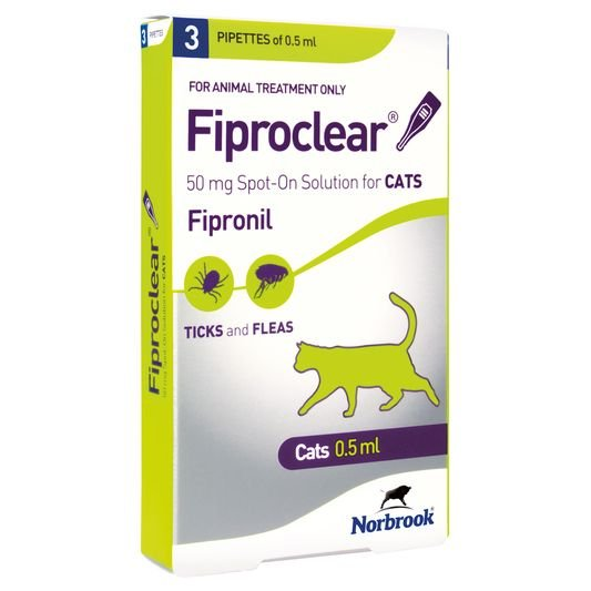 Fiproclear Spot On Cat Thumbnail