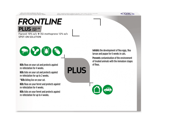 Frontline Plus for Cats Thumbnail