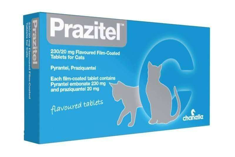 Prazitel Cat Wormer Tablet Thumbnail