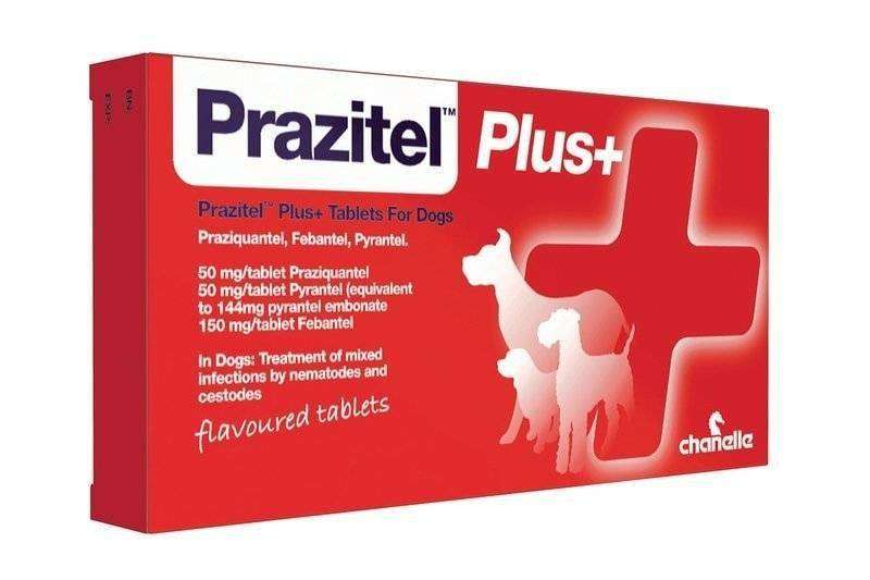 Prazitel Dog Wormer Tablet Thumbnail