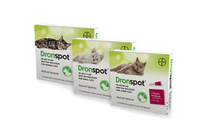 Dronspot Spot On Wormer Pack of 2
