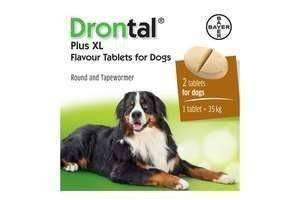 Drontal Dog Plus XL