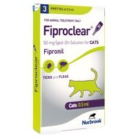 Fiproclear Spot On Cat
