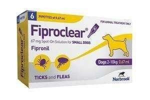 Fiproclear Spot On Dog