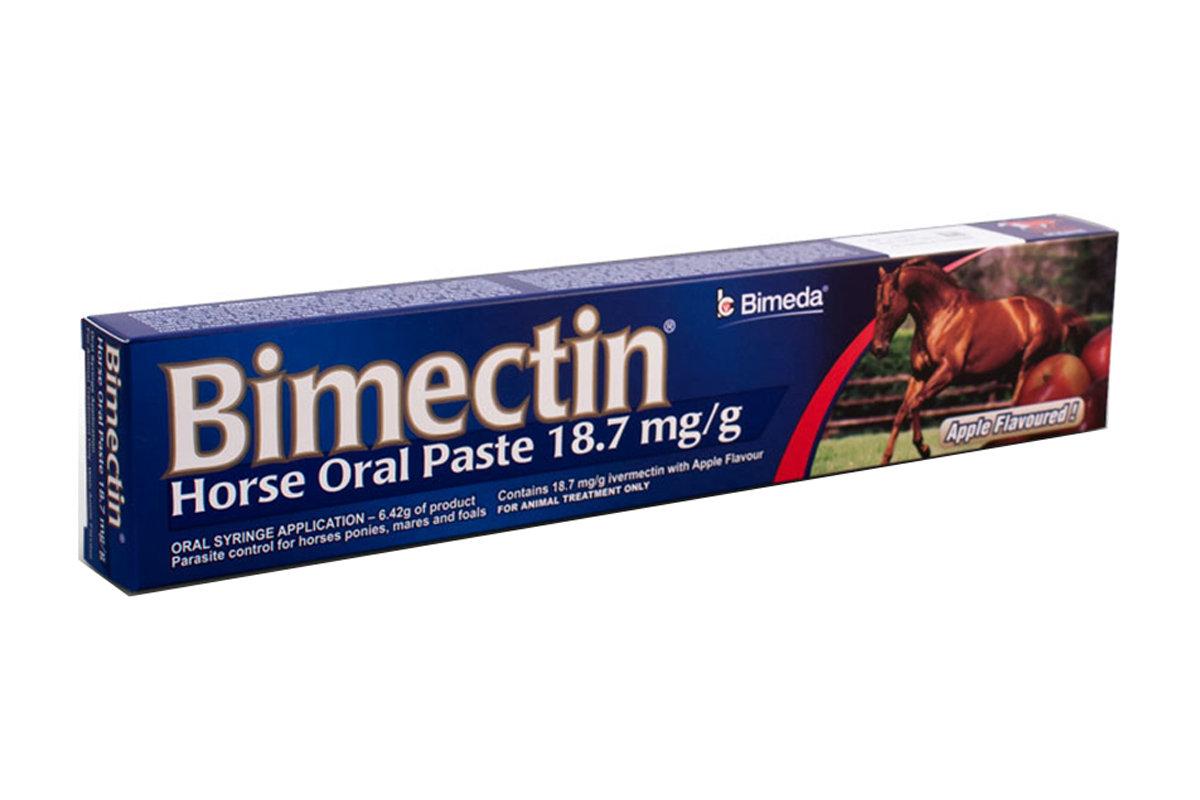 Bimectin horse wormer
