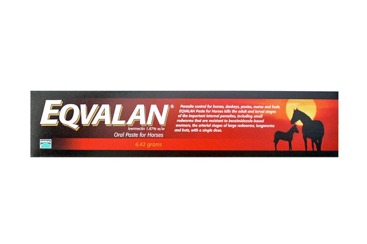 Eqvalan horse wormer